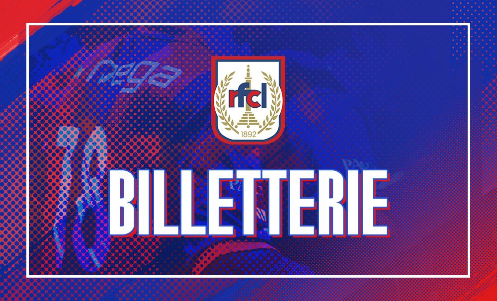 Billetterie | Infos pratiques RFCL-Francs Borains (03/10)
