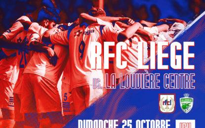 Nationale 1 | RFCL-La Louvière : infos pratiques (reporté)