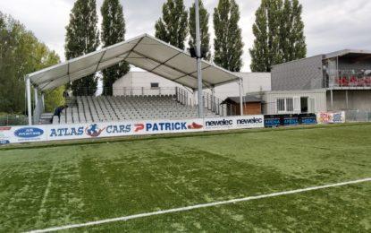 Rocourt | Les nouvelles tribunes sont prêtes