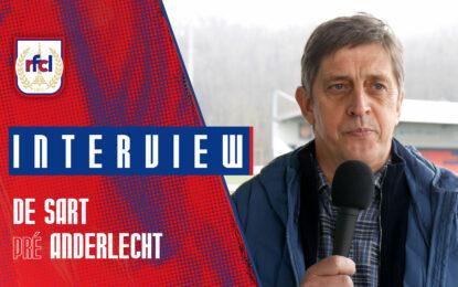 Liège-Anderlecht | J.-F. De Sart : «Des souvenirs extraordinaires» (RFCL TV)