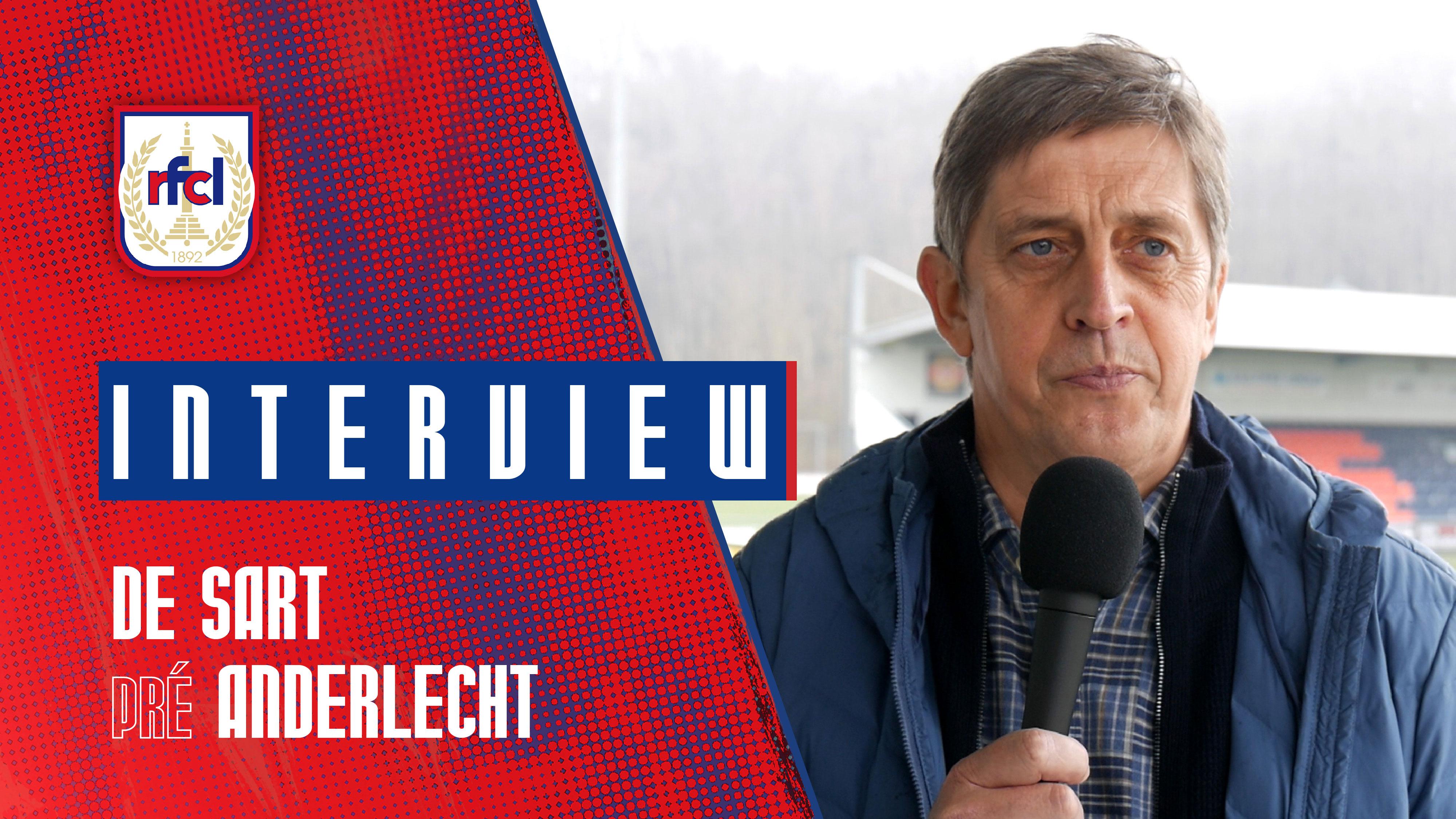 Liège-Anderlecht   J.-F. De Sart : «Des souvenirs extraordinaires» (RFCL TV)
