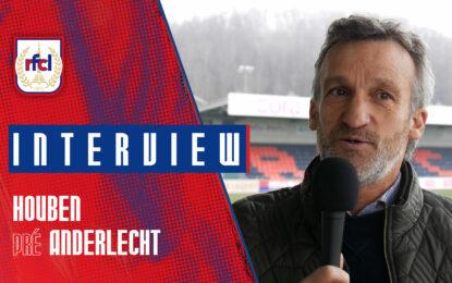 Liège-Anderlecht | J.-M. Houben : «Absolument y croire» (RFCL TV)