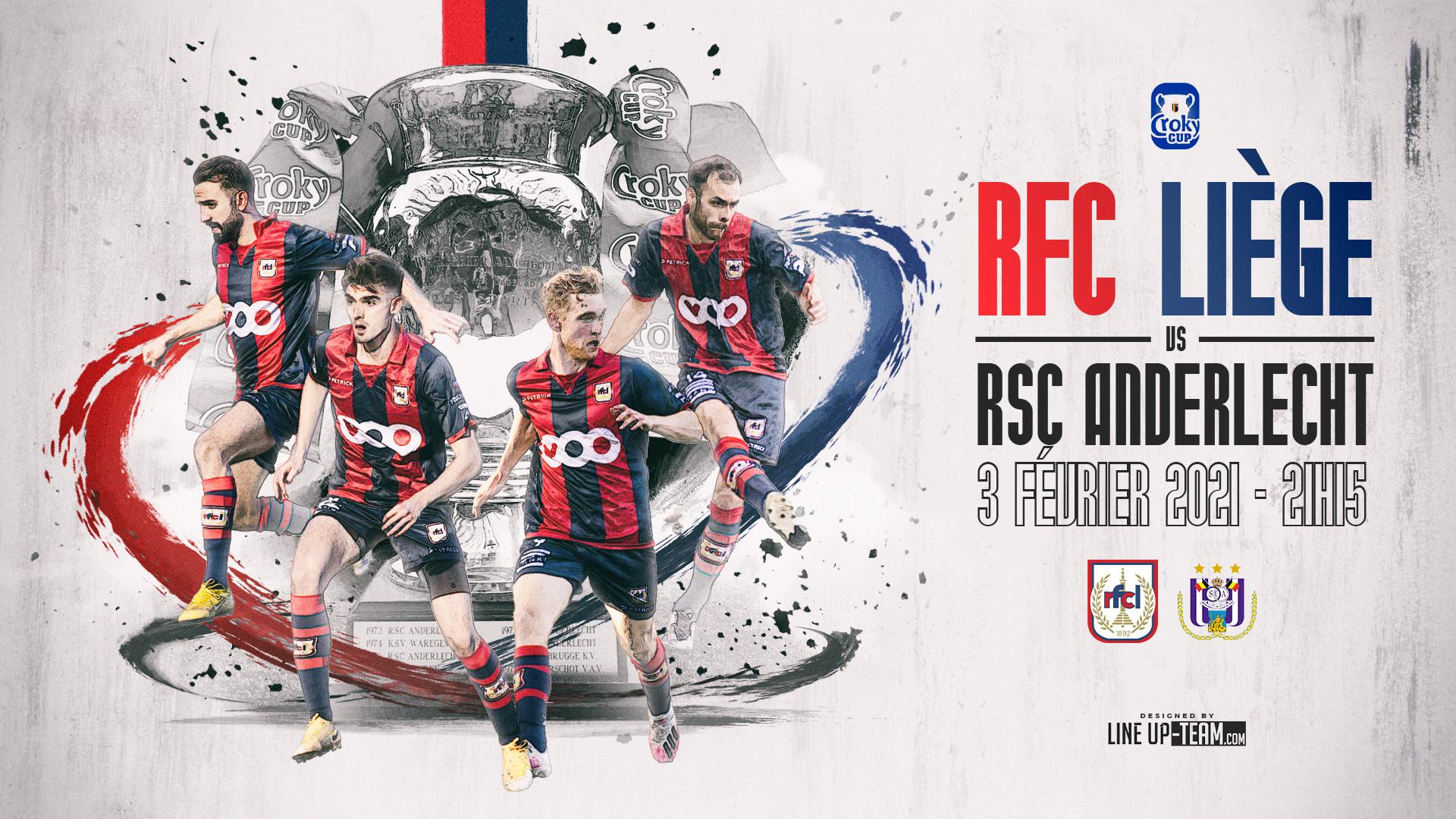 Coupe | RFCL-Anderlecht le 3 février