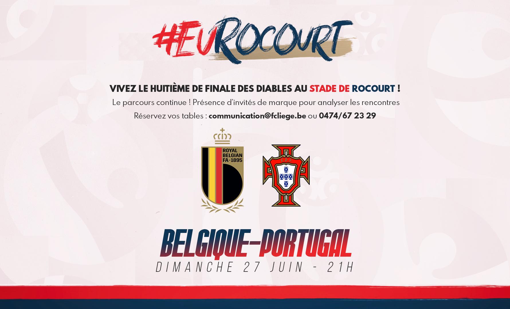 Évènement | Belgique-Portugal à Rocourt !