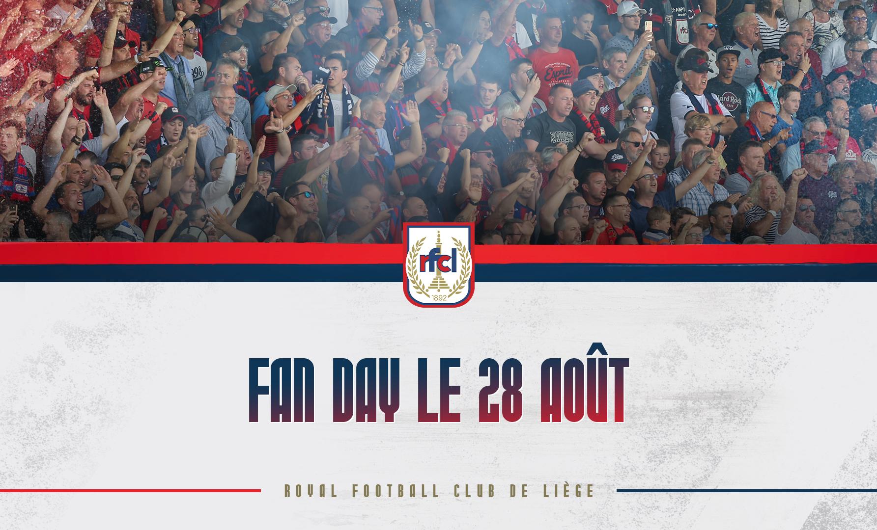 Fan Day   Le programme du 28/08