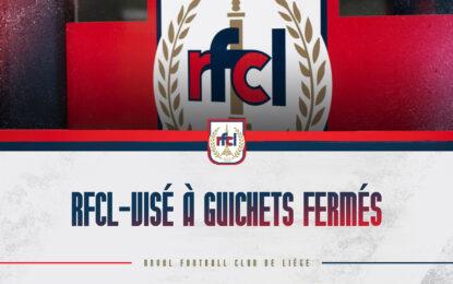 RFCL-Visé | Match à guichets fermés