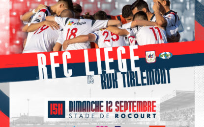 Billetterie   RFC Liège-Tirlemont (12/09)