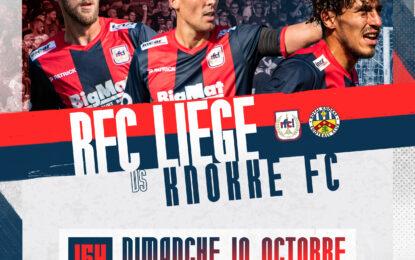 Billetterie | Prévente pour RFC Liège-Knokke