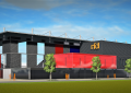 La  «Franki Arena» est sur les rails !
