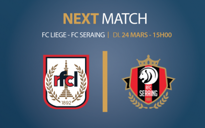 RFCL – FC Seraing   24.03.2019   Repas d'avant match