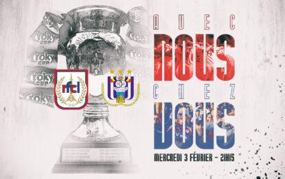Liège-Anderlecht   Avec nous, chez vous !