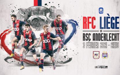 Coupe   RFCL-Anderlecht le 3 février