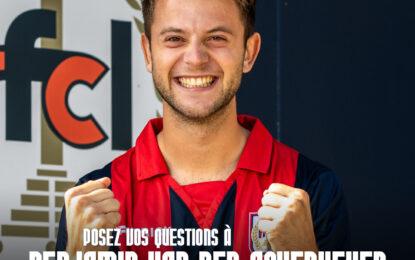 Interview | Benjamin Van Den Ackerveken répond à vos questions