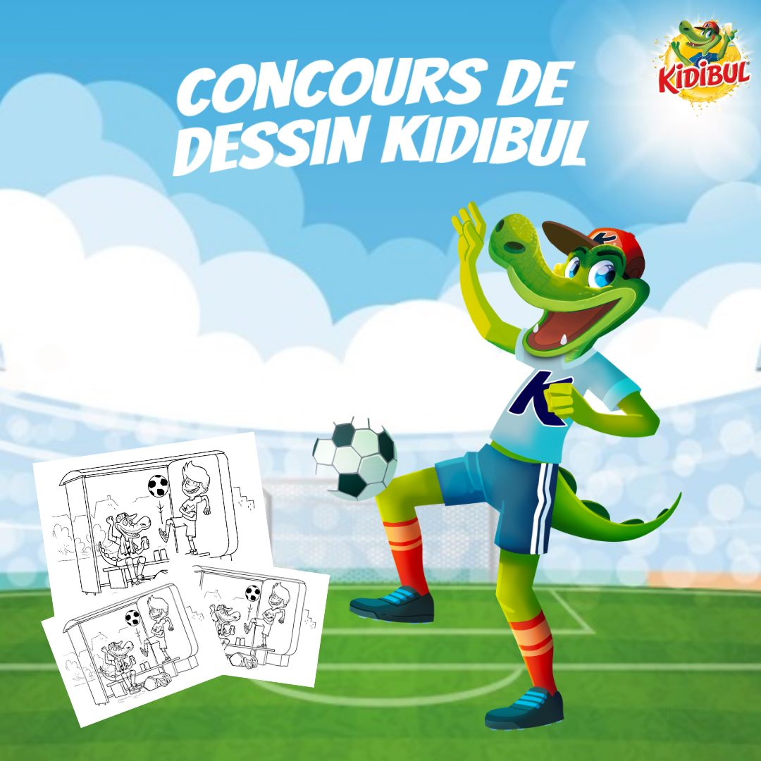 Jeunes | Concours de coloriage Kidibul