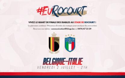 Évènement | Belgique-Italie à Rocourt ! (sold out)