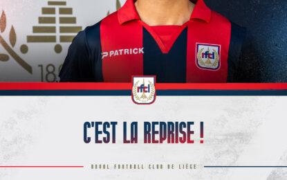 Reprise des entraînements à Rocourt et fan talk le 01/07 !
