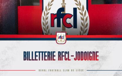 Billetterie | Inscriptions pour RFCL-Jodoigne (04/08)