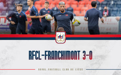 Amical | RFCL-Franchimont 3-0