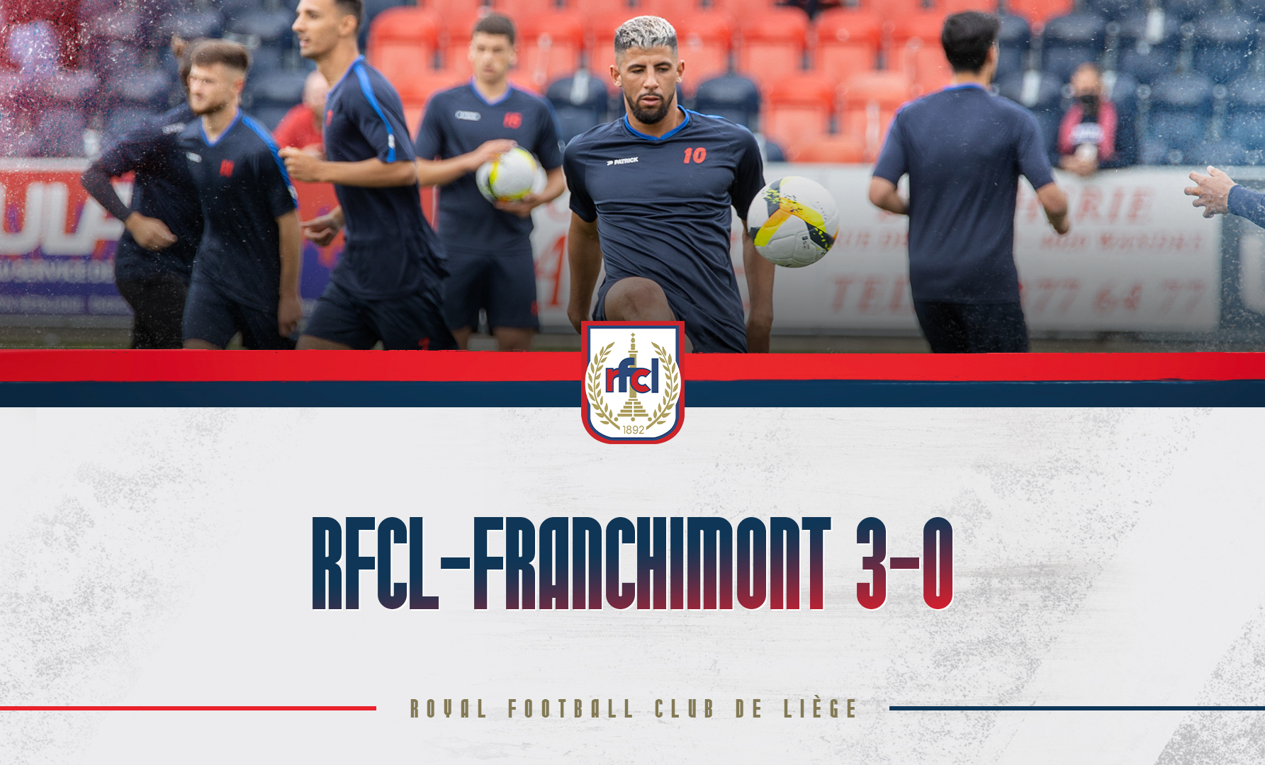 Amical   RFCL-Franchimont 3-0