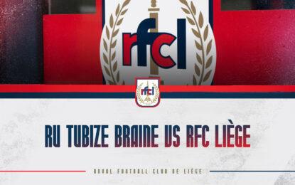 Amical | RU Tubize Braine-RFCL le 01/08