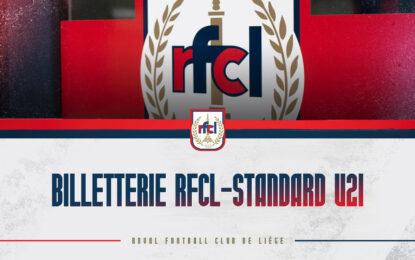 Billetterie | Inscriptions pour RFCL-Standard U21 (07/08)